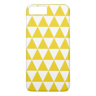 Cas plus de l'iPhone 7 jaune citron de motif de Coque iPhone 7 Plus