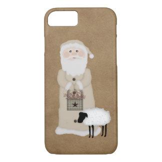 Cas primitif de l'iPhone 7 de Père Noël Coque iPhone 7
