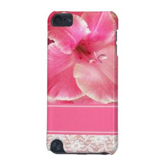 Cas rose de contact de Gladiola iPod Coque iPod Touch 5G