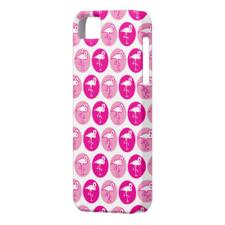 Cas rose de l'iPhone 5 de flamant Coque iPhone 5