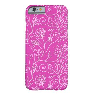Cas rose floral élégant de l'iPhone 6 Coque iPhone 6 Barely There