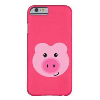 Cas rose mignon de l iPhone 6 de porc Coque iPhone 6 Slim