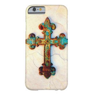 Cas rouillé de l'iPhone 6 de croix de fer