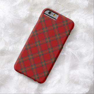 Cas royal de l'iPhone 6 de tartan de Stewart