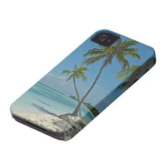 Cas tropical de Coque-compagnon de la plage Coques iPhone 4 Case-Mate