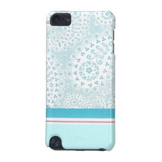 Cas turquoise de contact de Paisley iPod Coque iPod Touch 5G
