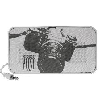 Cas vintage de téléphone d'appareil-photo