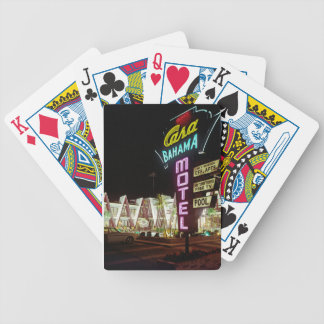 Casa Bahama Motel in Wildwood, New Jersey, 1960's Bicycle Playing Cards