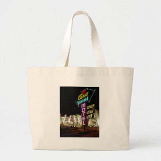 Casa Bahama Motel in Wildwood, New Jersey, 1960's Large Tote Bag