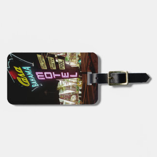 Casa Bahama Motel in Wildwood, New Jersey, 1960's Luggage Tag