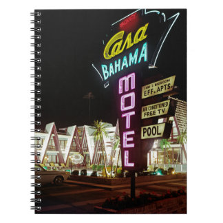 Casa Bahama Motel in Wildwood, New Jersey, 1960's Notebook
