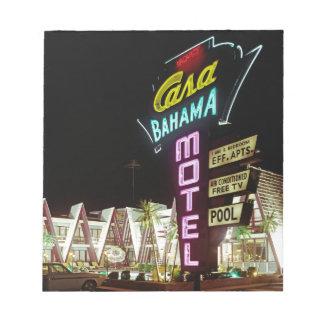 Casa Bahama Motel in Wildwood, New Jersey, 1960's Notepad