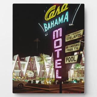 Casa Bahama Motel in Wildwood, New Jersey, 1960's Plaque