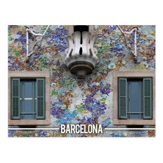 Casa Batllo - Antoni Gaudi, Barcelona Postcard