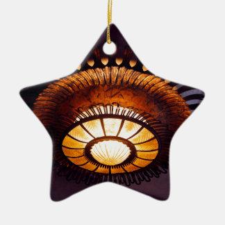 Casa Batllo interiour chandellier Ceramic Star Ornament