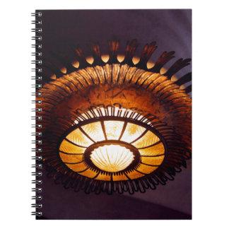 Casa Batllo interiour chandellier Notebook