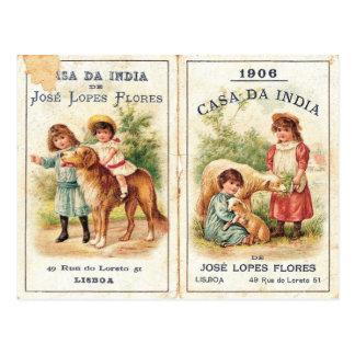 Casa Da India Postcard