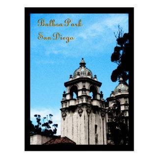 Casa Del Prado Theater, Balboa Park, San Diego Postcard