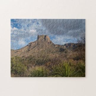Casa Grande Peak, Chisos Basin, Big Bend Jigsaw Puzzle