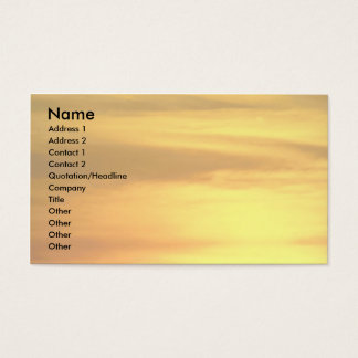 Casa Grande ruins at sunset, Coolidge, Arizona, U. Business Card
