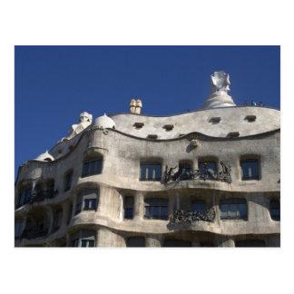 Casa Milà, Barcelona Postcard