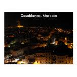 Casablanca, Morocco Postcard