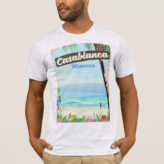 Casablanca Morocco, romantic vintage poster T-Shirt