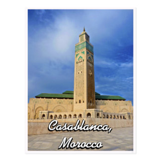 Casablanca Mosque Postcard
