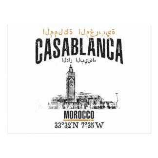Casablanca Postcard