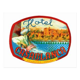 CasablancaHotel Postcard
