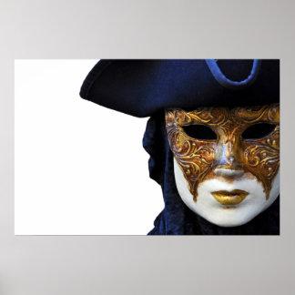 Casanova Theater Venice Mask Poster