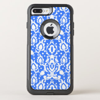Casbah Moroccan Damask Blue and White OtterBox Commuter iPhone 8 Plus/7 Plus Case