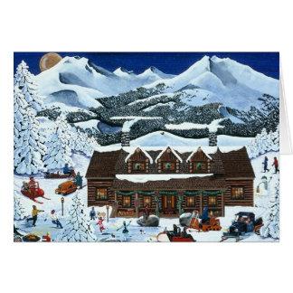 Cascade Cabin Holiday Card