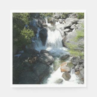 Cascade Falls at Yosemite National Park Paper Napkin