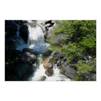 Cascade Falls at Yosemite National Park Perfect Poster
