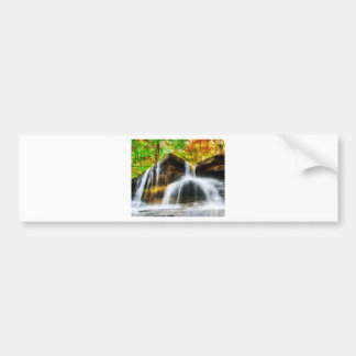 Cascade Falls Bumper Sticker