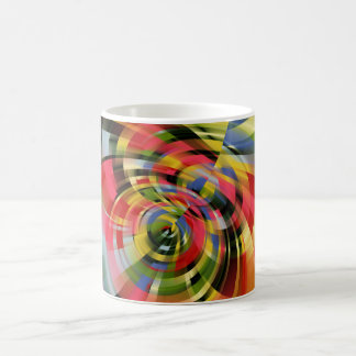 Cascade of colors coffee mug