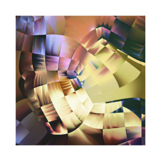 Cascade  of Cubes Canvas Print