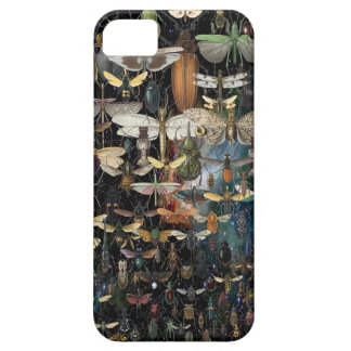 cascade of insects and butterflies for your phone iPhone 5 covers