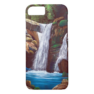 Cascade of mountain inner part iPhone 8/7 case