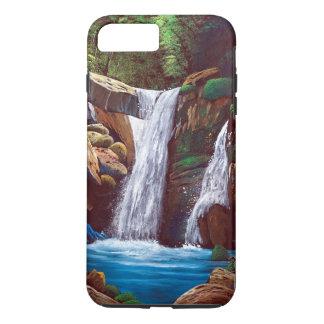 Cascade of mountain inner part iPhone 8 plus/7 plus case