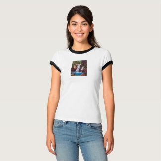 Cascade of mountain inner part T-Shirt