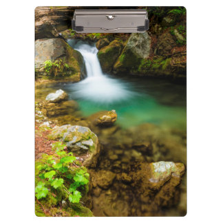 Cascade on Hare Creek, California Clipboard