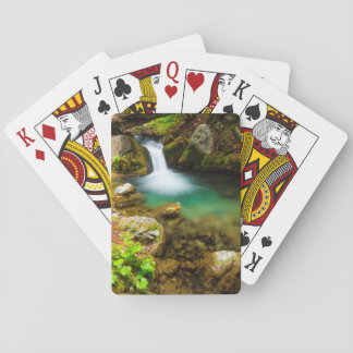 Cascade on Hare Creek, California Playing Cards