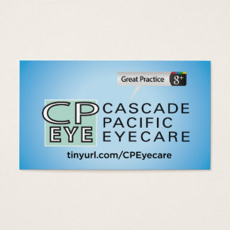 Cascade Pacific Eyecare Business Card