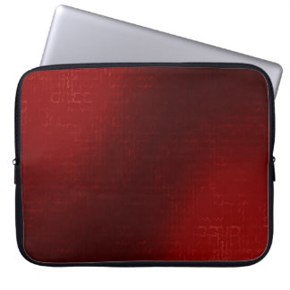 Cascade (Red)™ Neoprene Laptop Sleeve