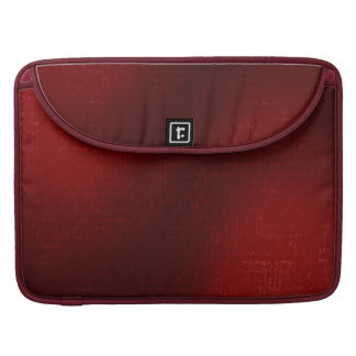 Cascade (Red)™ Rickshaw Macbook Sleeve