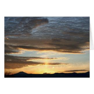 Cascade Sky Card