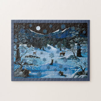 Cascade Snowflake Puzzle