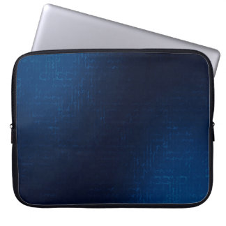 Cascade (Teal)™ Neoprene Laptop Sleeve